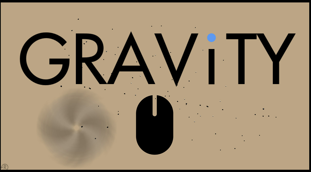 GRAViTY start screen
